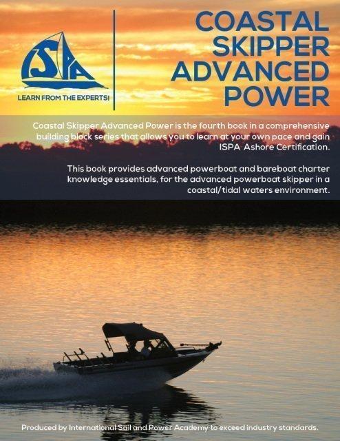 ISPA Coastal Skipper Advanced Power