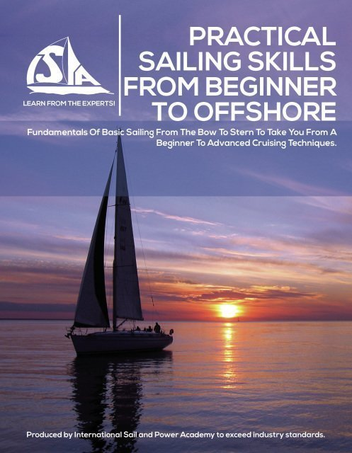 ISPA Practical Sailing Skills from Beginner to Offshore